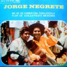 Discos de vinilo: JORGE NEGRETE. Lote 24108289