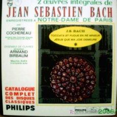 Discos de vinilo: J.S.BACH. Lote 23360793