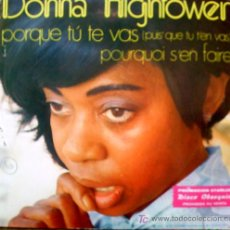 Discos de vinilo: DONNA HIGHTOWER. Lote 19228670