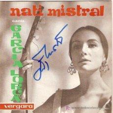 Discos de vinilo: NATI MISTRAL EP SELLO VERGARA FIRMADO POR LA ARTISTA. Lote 5235286