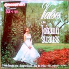 Discos de vinilo: VALSES DE JOHANN STRAUSS. Lote 24918635