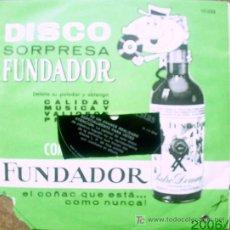 Discos de vinilo: DISCO SORPRESA FUNDADOR. Lote 18358166