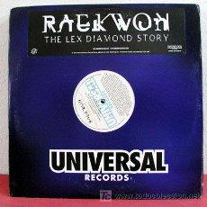 Discos de vinilo: RAEKWON (THELEX DIAMOND STORY) NEW YORK-2003 DOBLE DISCO. Lote 5252537