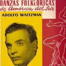 Discos de vinilo: ADOLFO WAITZMAN 10¨(25 CTMS.) DEL SELLO ORPHEO . Lote 5258905