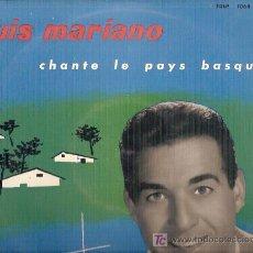 Discos de vinilo: LUIS MARIANO 10¨(25 CTMS.) DEL SELLO LA VOZ DE SU AMO EDICION FRANCESA. Lote 5258922
