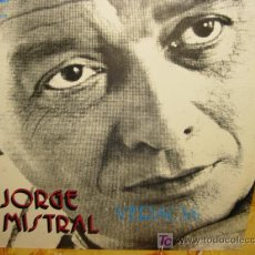 Discos de vinilo: JORGE MISTRAL LP SELLO GMA AÑO 1973 VERSOS. Lote 5265149