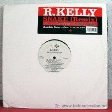 Discos de vinilo: R. KELLY (SNAKE FEATURING CAM'RON & BIG TIGGER 5 VERSIONES) USA-2003 33RPM. Lote 5266357