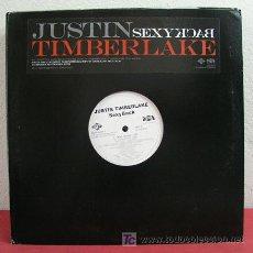 Discos de vinilo: JUSTIN TIMBERLAKE (SEXY BACK 4 VERSIONES) USA-2006 33RPM. Lote 5266880