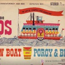 Discos de vinilo - EDMUNDO ROS LP SHOW BOAT AND PORGY AND BESS DECCA SKL4087 ENGLAND - 17167755