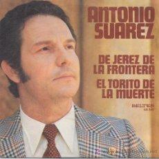 Discos de vinilo: ANTONIO SUAREZ. Lote 5289386