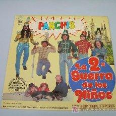 Discos de vinilo: LP: PARCHIS - LA 2ª GUERRA DE LOS NIÑOS - INFANTILES. Lote 11930512