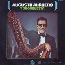 Discos de vinilo: AUGUSTO ALGUERO Y SU ORQUESTA DISCO SINGLE HISPAVOX HH 17-361 1966 SPA. Lote 24144137