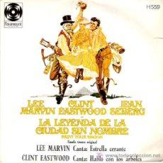 Discos de vinilo: LA LEYENDA DE LA CIUDAD SIN NOMBRE - WAND `RIN STAR / I TALK TO THE TREES. Lote 5998510