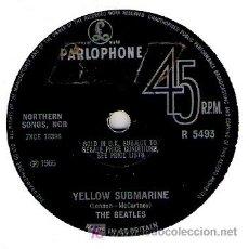 Discos de vinilo: THE BEATLES- YELOW SUBMARINE / ELEANOR RIGBY . Lote 16493092