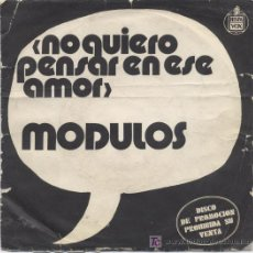Discos de vinilo: MODULOS,PROMO. Lote 5344607