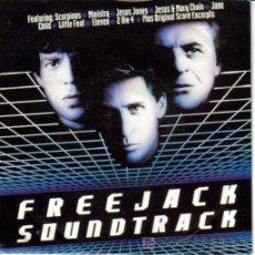 Discos de vinilo: SCORPIONS-HIS BETWEEN THE EYES BSO FREEJACK SINGLE EDITA MERCURY EN 1992 PROMO. Lote 87487827