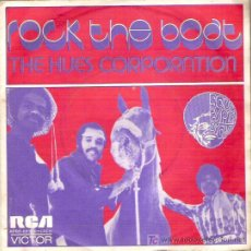 Discos de vinilo: THE HUES CORPORATION - ROCKT THE BOAT /ALL GOIN` DOWN TOGETHER. Lote 13203941