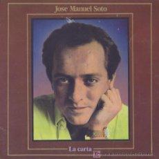 Discos de vinilo: LA CARTA / JOSE MANUEL SOTO / SINGLE. Lote 5359328
