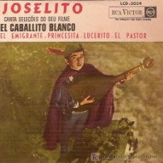 Discos de vinilo: JOSELITO EP SELLO RCA VICTOR EDITADO EN BRASIL. Lote 5366343