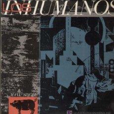 Discos de vinilo: LOS INHUMANOS / ERES UNA FOCA (MAXI EPIC DE 1984). Lote 12987751