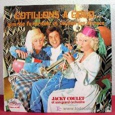 Discos de vinilo: JACKY COULET ET SON GRAND ORCHESTRE ( COTILLONS A GOGO... ) FRANCE LP33. Lote 5374127