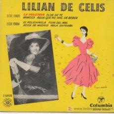 Discos de vinilo: LILIAN DE CELIS. Lote 5374814