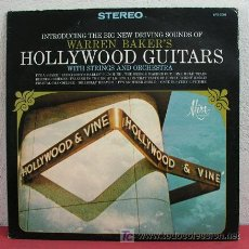 Discos de vinilo: WARREN BAKER ( WARREN BAKER'S HOLLYWOOD GUITARS ) USA LP33. Lote 5377508