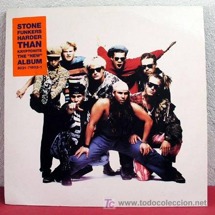 STONE FUNKERS ( HARDER THANK RYPTONITE ) 1990 LP33 (Música - Discos - LP Vinilo - Pop - Rock Extranjero de los 90 a la actualidad)