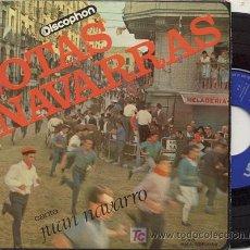 Discos de vinilo: EP 45 RPM / JUAN NAVARRO / AY TAFALLESA (JOTAS NAVARRAS) //// EDITADO POR DISCOPHON . Lote 20553284