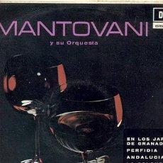 LP 33 RPM / MANTOVANI Y ORQUESTA / ANDALUCIA .... //// EDITADO POR DECCA