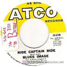 Discos de vinilo: BLUES IMAGINE - RIDE CAPTIAN RIDE / PAY MY DUES. Lote 20042892