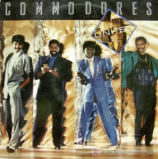COMMODORES-UNITED LP VINILO EDITADO POR POLYDOR EN 1986 (Música - Discos - LP Vinilo - Funk, Soul y Black Music)