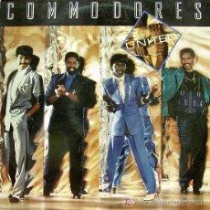 Discos de vinilo: COMMODORES-UNITED LP VINILO EDITADO POR POLYDOR EN 1986. Lote 5406592