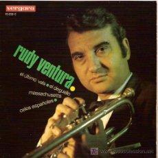 Discos de vinilo: RUDY VENTURA EP SELLO VERGARA AÑO 1967. Lote 5416518
