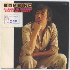 Discos de vinilo: BAMBINO. Lote 5430444