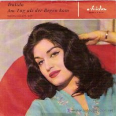 Discos de vinilo: DALIDA SINGLE SELLO ARIOLA EDICION ALEMANA. Lote 5441101