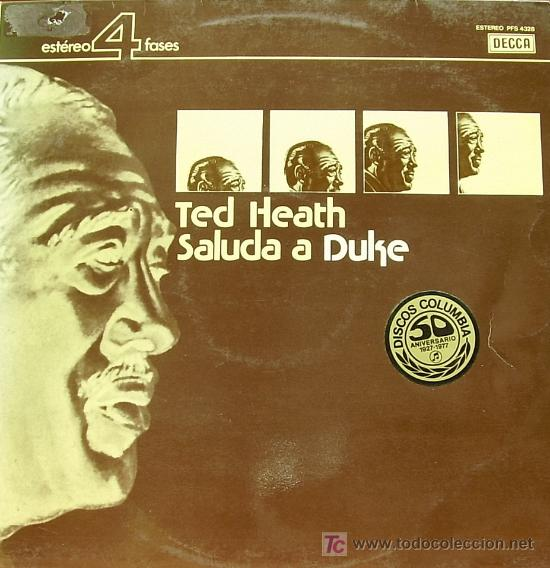 TED HEATH-SALUDO A DUKE LP VINILO EDITADO POR DECCA EN 1976 (Música - Discos - LP Vinilo - Orquestas)