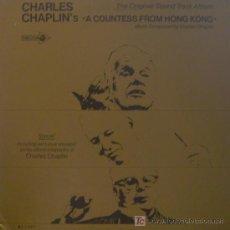 Discos de vinilo: BANDA SONORA ORIGINAL - LA CONDESA DE HONG KONG - LP ORIGINAL AMERICANO CHARLES CHAPLIN. Lote 5461224
