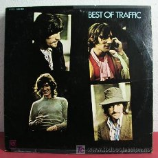 Discos de vinilo: TRAFFIC ( THE BEST OF TRAFFIC ) USA-1969 LP33 UNITED ARTISTS RECORDS. Lote 5512915