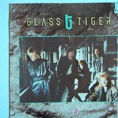 Discos de vinilo: GLASS TIGER - DIAMOND SUN / SUFFER IN SILENCE - SINGLE ESPAÑOL DE 1988. Lote 5526410