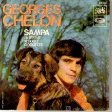 Discos de vinilo: GEORGES CHELON - SAMPA / LA STATUE / REFOULE / GIROUETTE -RARO 1965. Lote 6033761