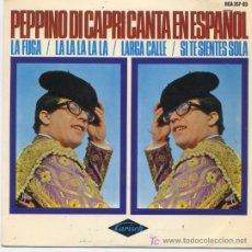 Discos de vinilo: PEPPINO DI CAPRI. Lote 5548782