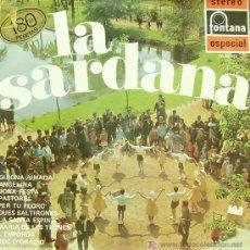 Discos de vinilo: LA SARDANA-COBLA BARCELONA LP EDITA FONTANA EN 1969. Lote 5551189