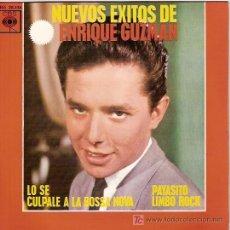 Discos de vinilo: ENRIQUE GUZMAN EP SELLO ARIOLA AÑO 1963 CON LOS SALVAJES. Lote 5562249
