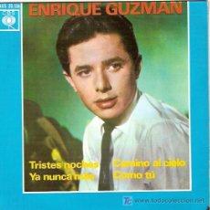 Discos de vinilo: ENRIQUE GUZMAN EP SELLO ARIOLA AÑO 1963 CON LOS SALVAJES. Lote 5562253