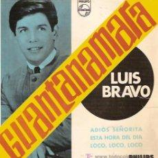Discos de vinilo: LUIS BRAVO EP SELLO PHILIPS AÑO 1966. Lote 5564846