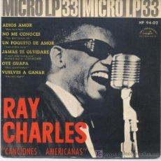 Discos de vinilo: RAY CHARLES. Lote 5570490