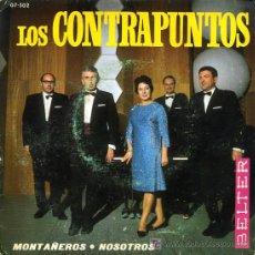 Discos de vinilo: LOS CONTRAPUNTOS - GU (NOSOTROS) / MENDIZALEAK (MONTAÑEROS) - 1968. Lote 153874964