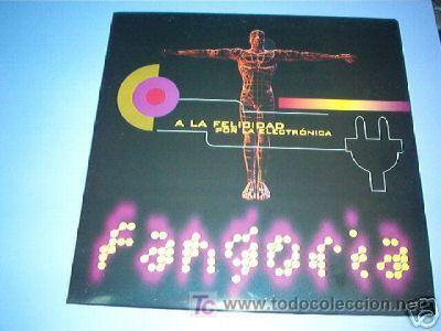 MX FANGORIA A LA FELICIDAD POR LA ELECTRONICA ALASKA VINILO (Música - Discos - LP Vinilo - Grupos Españoles de los 70 y 80)