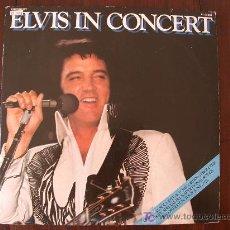 Discos de vinilo: ELVIS PRESLEY - ELVIS IN CONCERT - (HOLANDA-RCA-1977) 2 LP'S. Lote 13965216